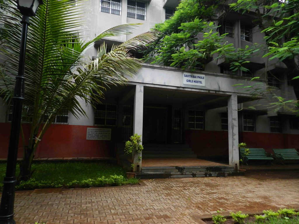 ladies hostel front view